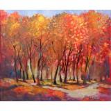 Autumn Memories, oil on canvas, 50 x 60 cm, by T. Ignatov