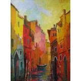 Venice II, oil on canvas, 50 x 35 cm, by T. Ignatov