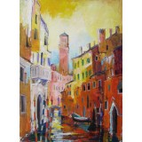 Venice I, oil on canvas, 50 x 35 cm, by T. Ignatov
