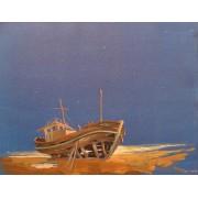 Repose, oil on canvas, 40 x 50 cm, by T. Ignatov